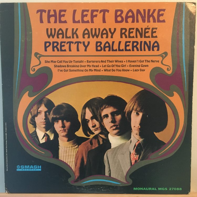 The Left Banke Walk Away Renee front cover