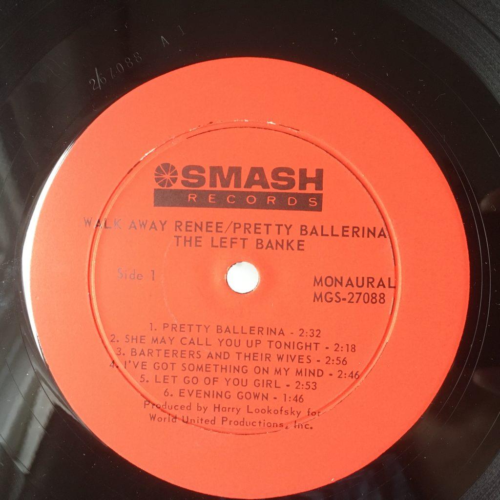 Walk Away Renee original Smash label