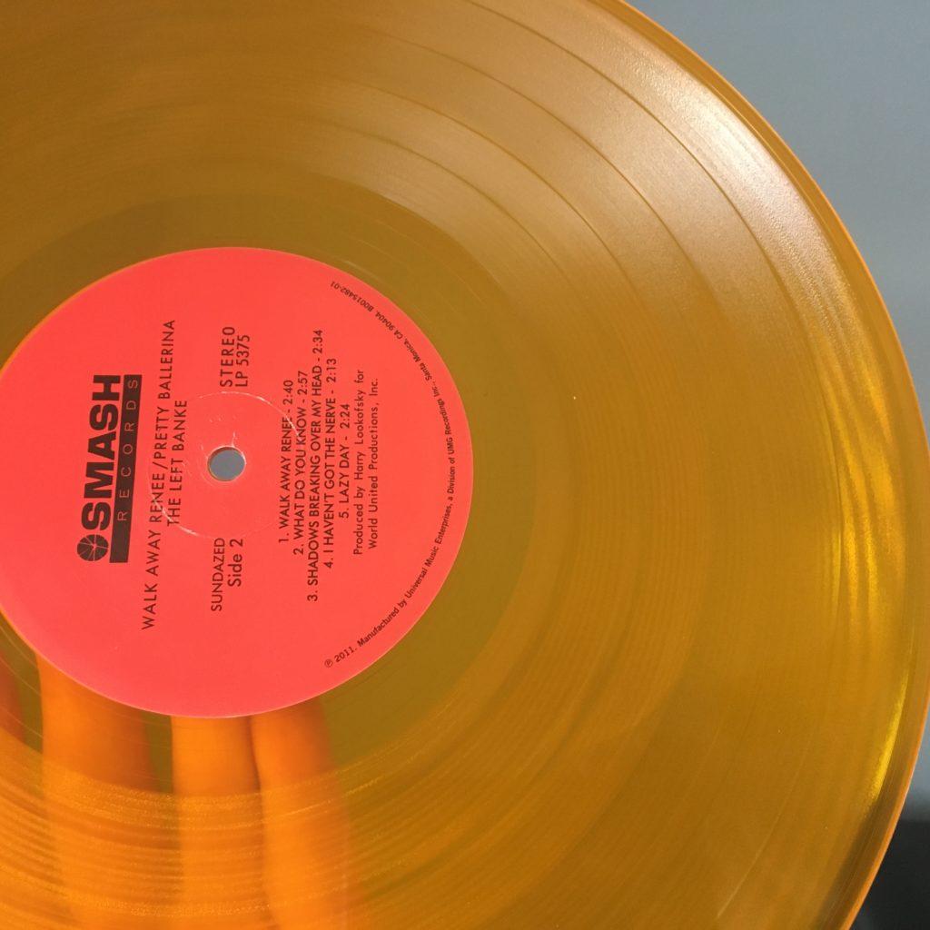 Sundazed reissue colored vinyl