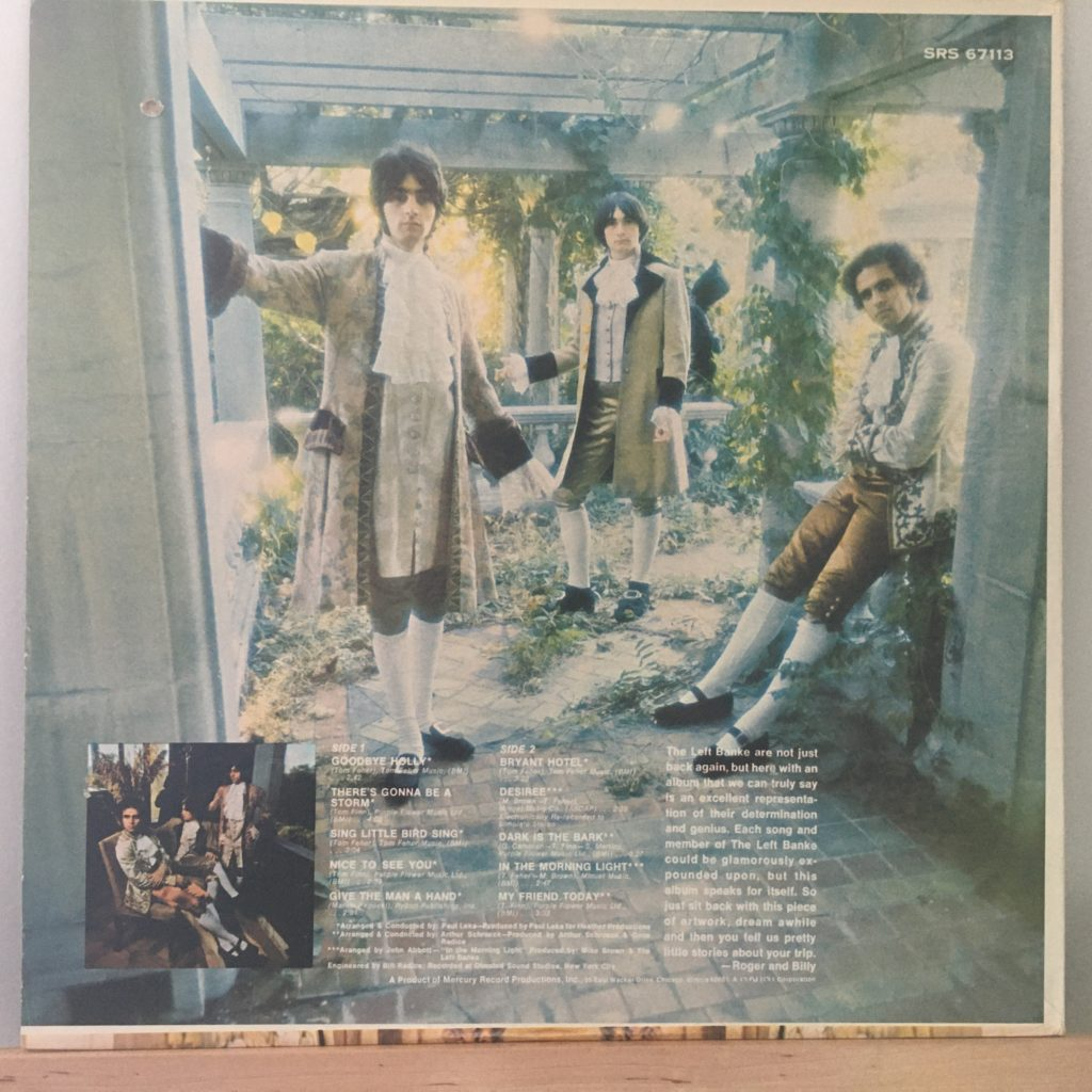 The Left Banke Too back cover