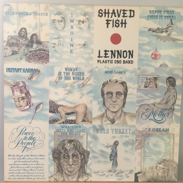 Shaved Fish front cover